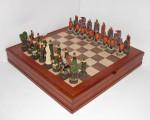 На Лесном проспекте ветераны играют в шахматы