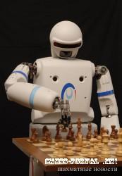 Битва шахматных роботов